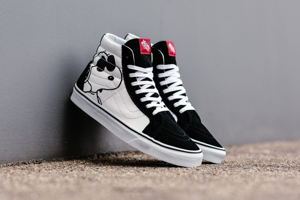 VANS SK8-Hi Reissue (Peanuts) Joe Cool/black : Price 4,500.-