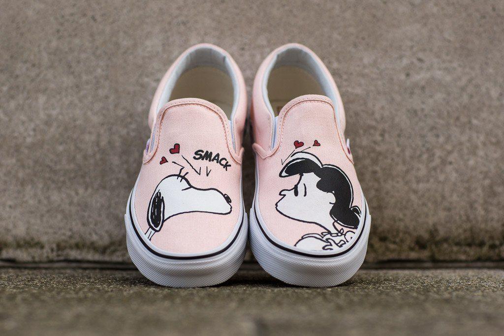 VANS Classic Slip-On (Peanuts) Smack/pearl : Price 3,000.-