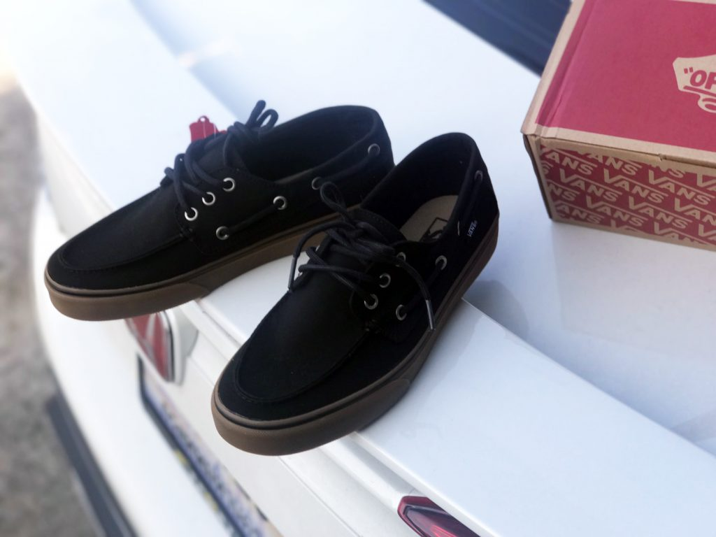 VANS Chauffeur SF - Black/Medium Gum : Price 1,880.-