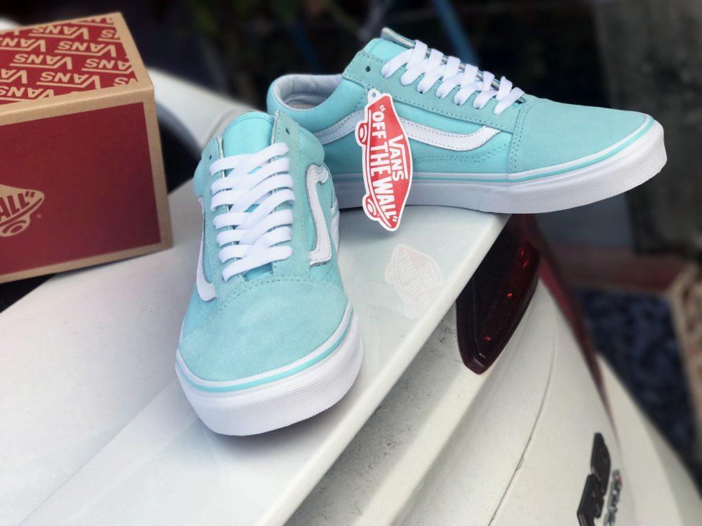 VANS Old Skool - Aruba Blue/True White : Price 2,700.-