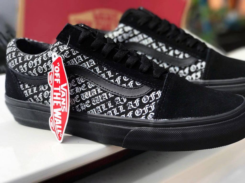 VANS OTW AF Old Skool - Black/Black (Import) : Price 3,600.-