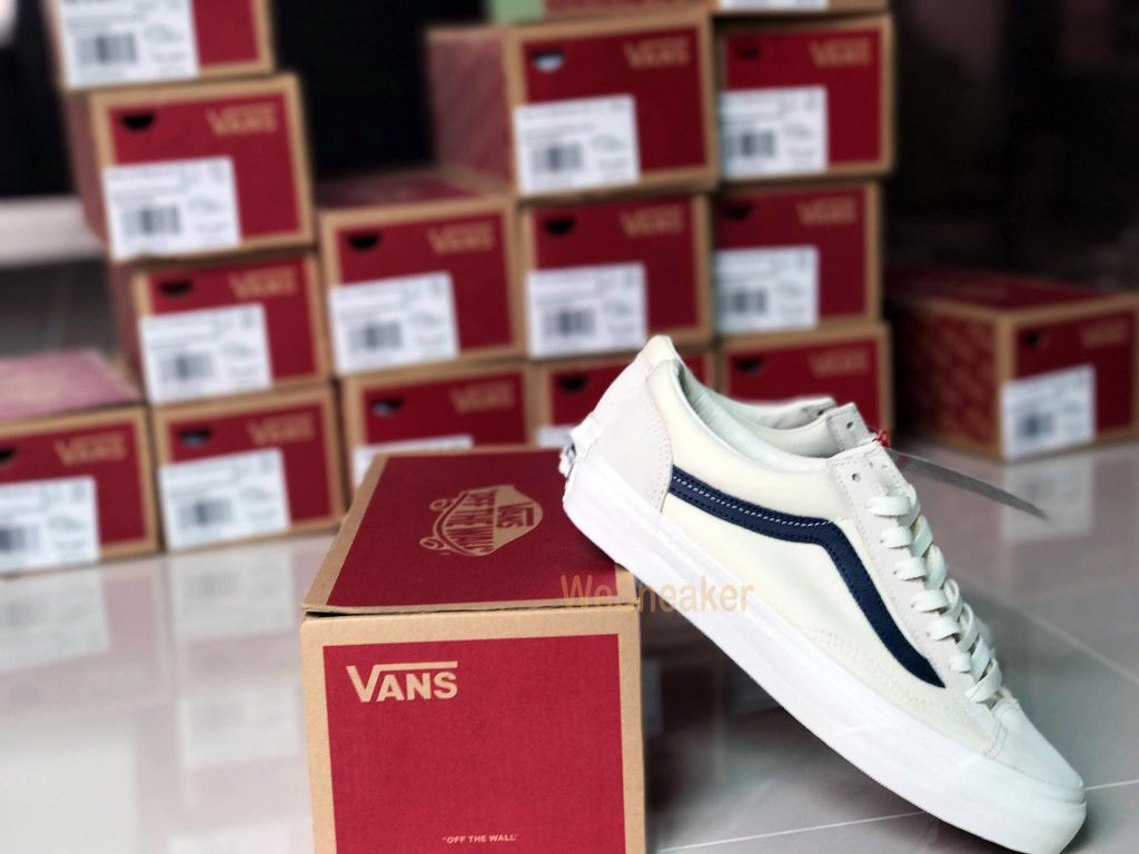 VANS Style 36 - Marshmallow/Dress Blues : Price 4,890.-