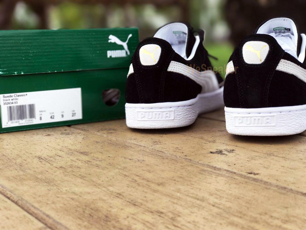 PUMA Suede Classic+ Black-White : Price 2,999.-