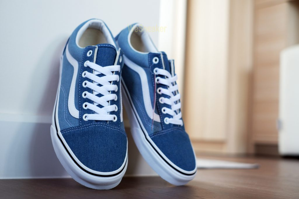 [VANS] Old Skool (Denim 2-Tone) Blue/True White : Price 3,200.-