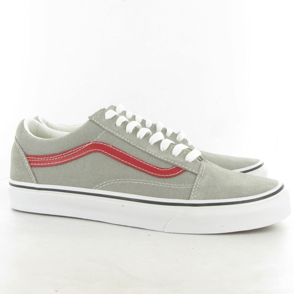 Vans Old Skool - Flint Grey/Chili Pepper : 2,450.-