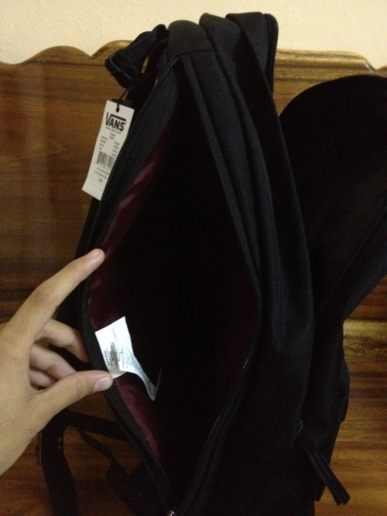 เป้ VANS Backpack - Syndicate Black : 2990.-