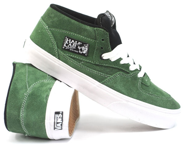 06d2457aa5 VANS Half Cab  20th Anniversary Celeb. LIMITED!  – Forest Green   3290