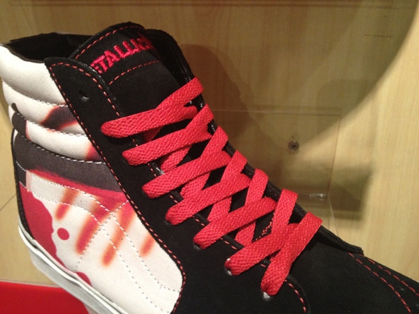"VANS ""SK8 (Hi) – Metallica"" [Kill 'Em All Series!] : Price 3800.-"