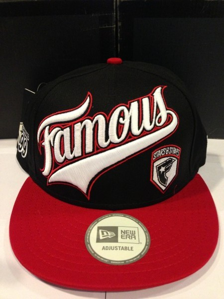 [Snapback]New Famous Stars & Straps – White/Red/Back Price 1790.-