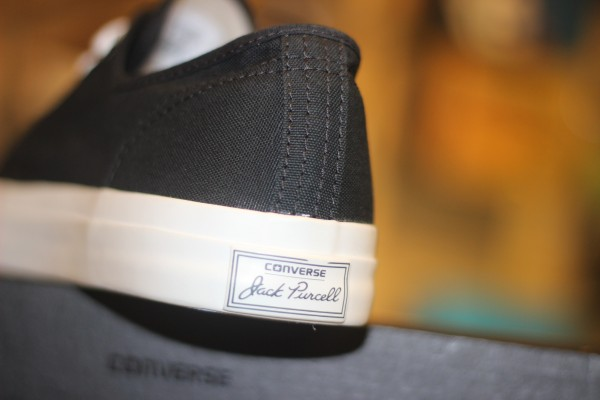 """CONVERSE """"Jack Purcell CP OX - Black/White"""" : Price 1600.-"""