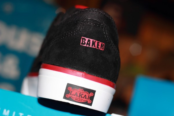 """LAKAI """"Griffin x BAKER - Black (Riley Hawk Custom Collaboration With BAKER)"""" [Limited Edition Fall 2013] : Price 3290.-"""