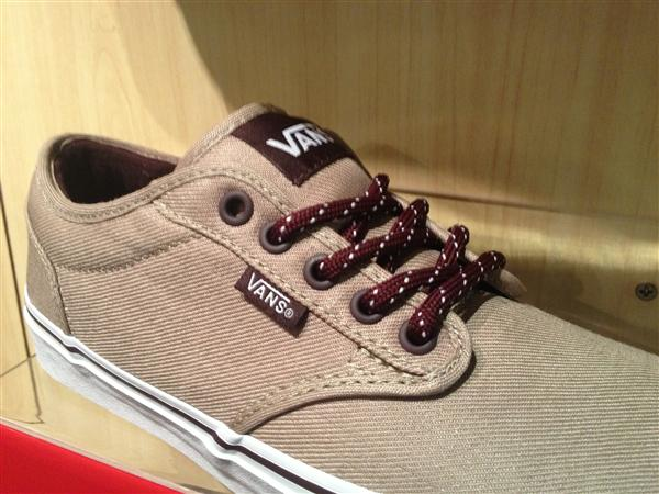 "VANS ""Atwood - (H13 Textile) Pebble/Wine"" : Price 1950.-"