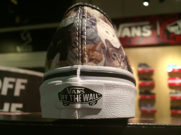 """VANS """"Authentic (ASPCA) - Cats"""" [Limited Edition!] : Price 2850.-"""