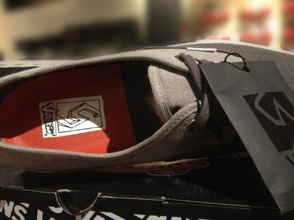 """VANS Syndicate """"Authentic PRO """"S"""" - (Neil Blender) Grey"""" : Price 4500.-"""