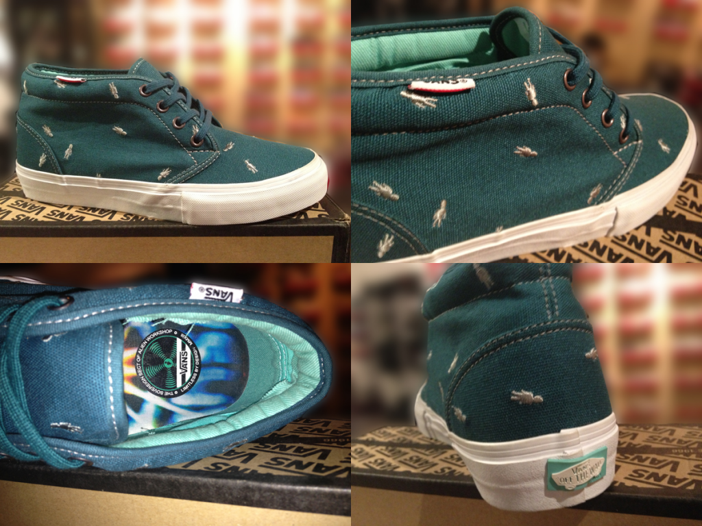 """Most Unidentified! With The VANS """"Chukka Boot PRO - (Alien Workshop) Lake"""" : Price 3290.-"""