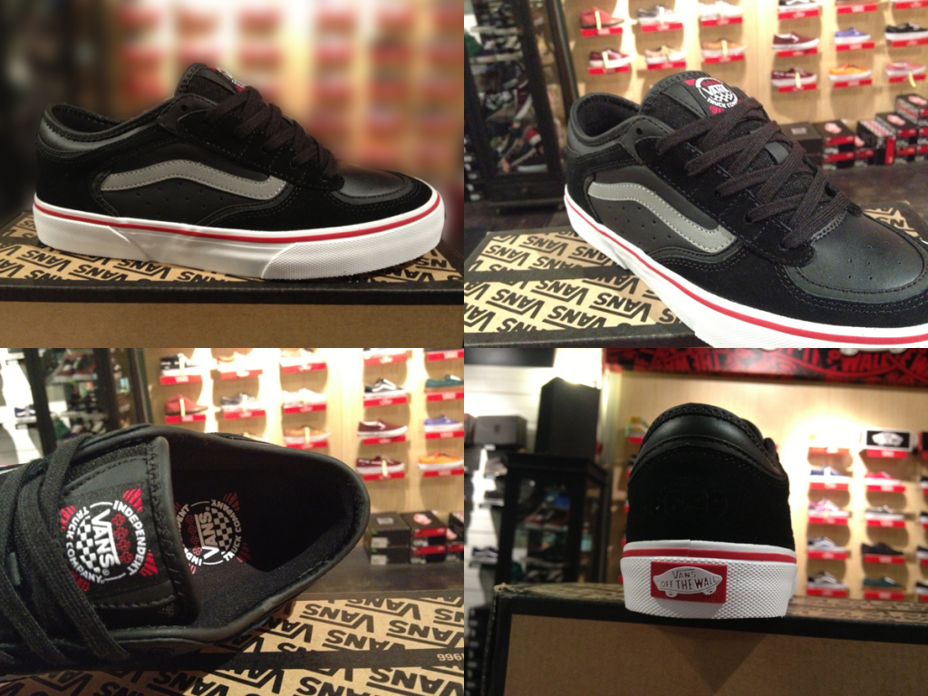 """Most Stripe! With The VANS """"Rowley Pro - (Independent) Black"""" : Price 3490.-"""