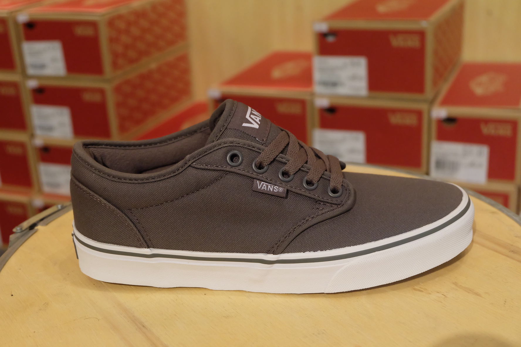 61a2da0310cf VANS Atwood Pewter (เทา)
