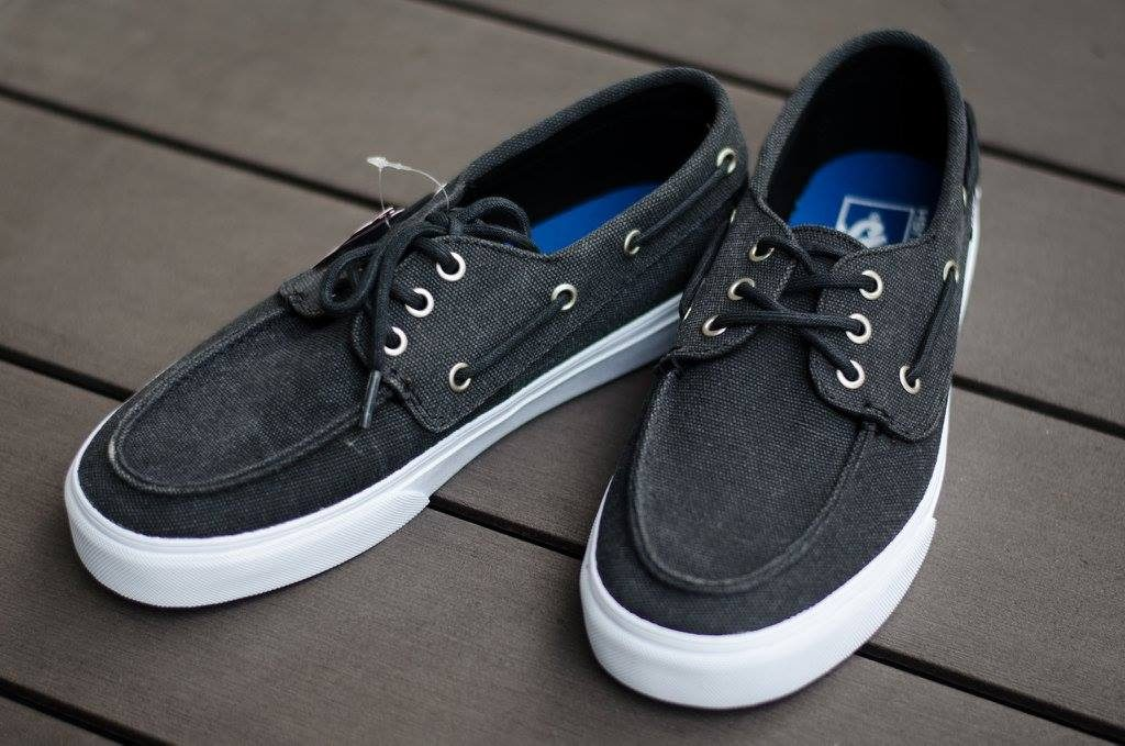"รองเท้า VANS ""Chauffeur SF – (Washed) Black"" : Price 2,900.-"