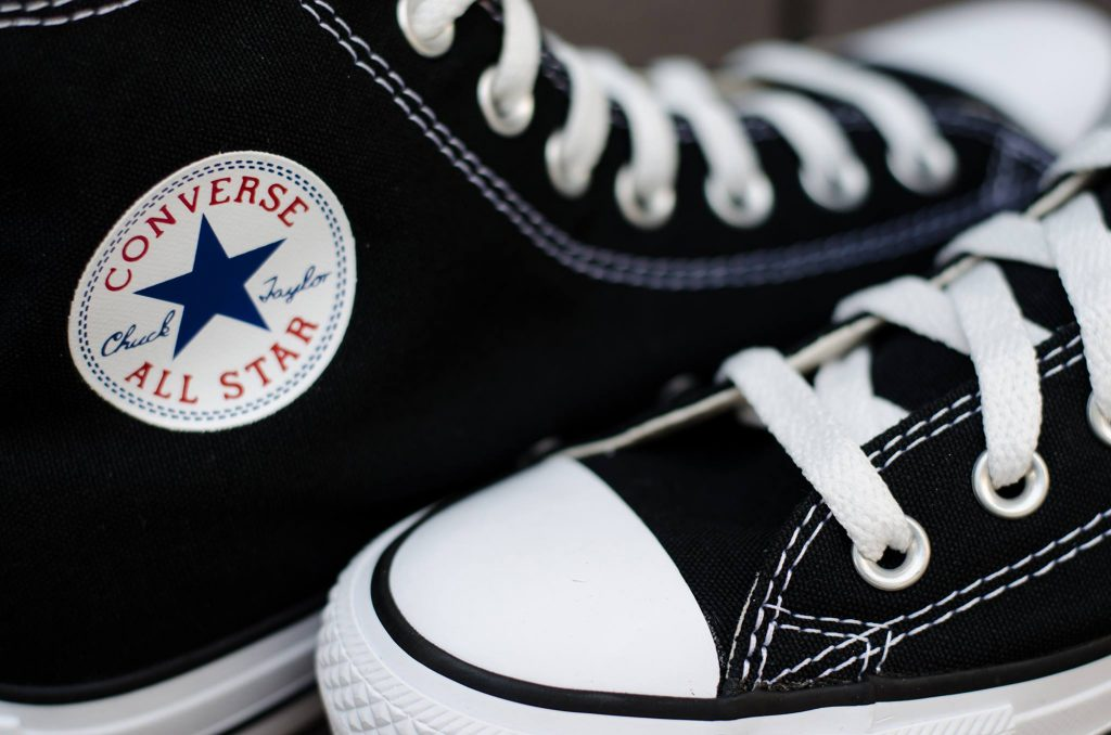 Converse All Star Hi - Black (Classic) : Price 1,750.-