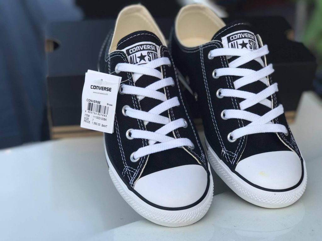 Converse All Star Dainty Ox - Black (Classic) : Price 1,550.-