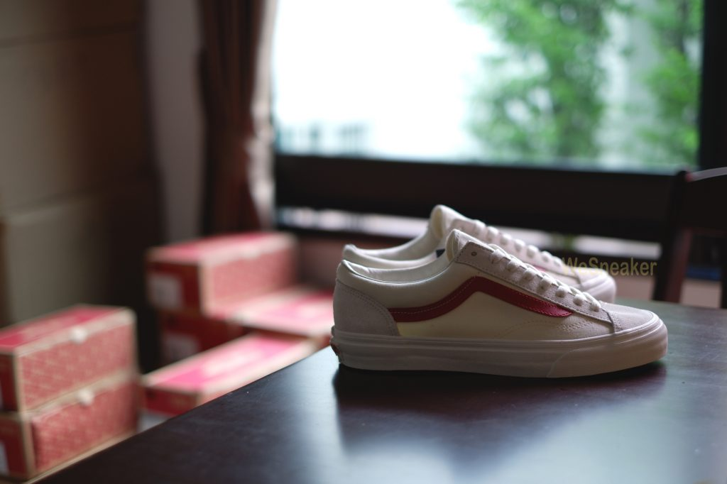 VANS Style 36 - Marshmallow/Racing Red : Price 4,890.-