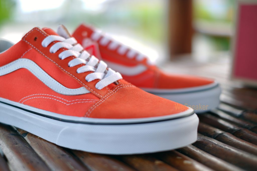 [VANS] Old Skool - Flame/True White : Price 3,200.-