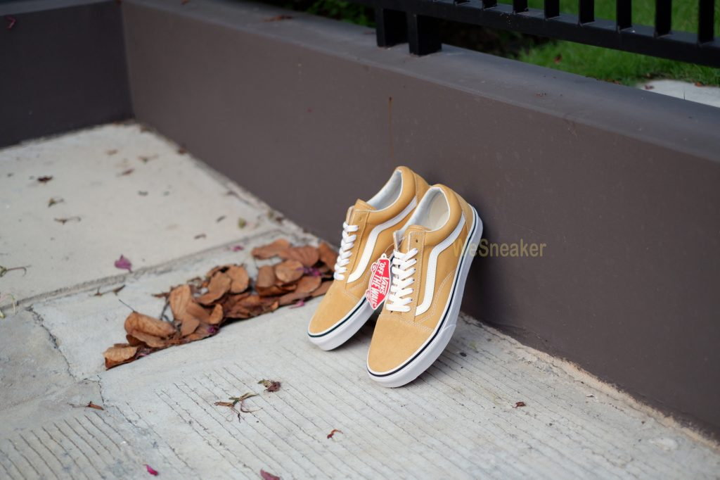 [VANS] Old Skool - Ochre/True White : Price 3,200.-