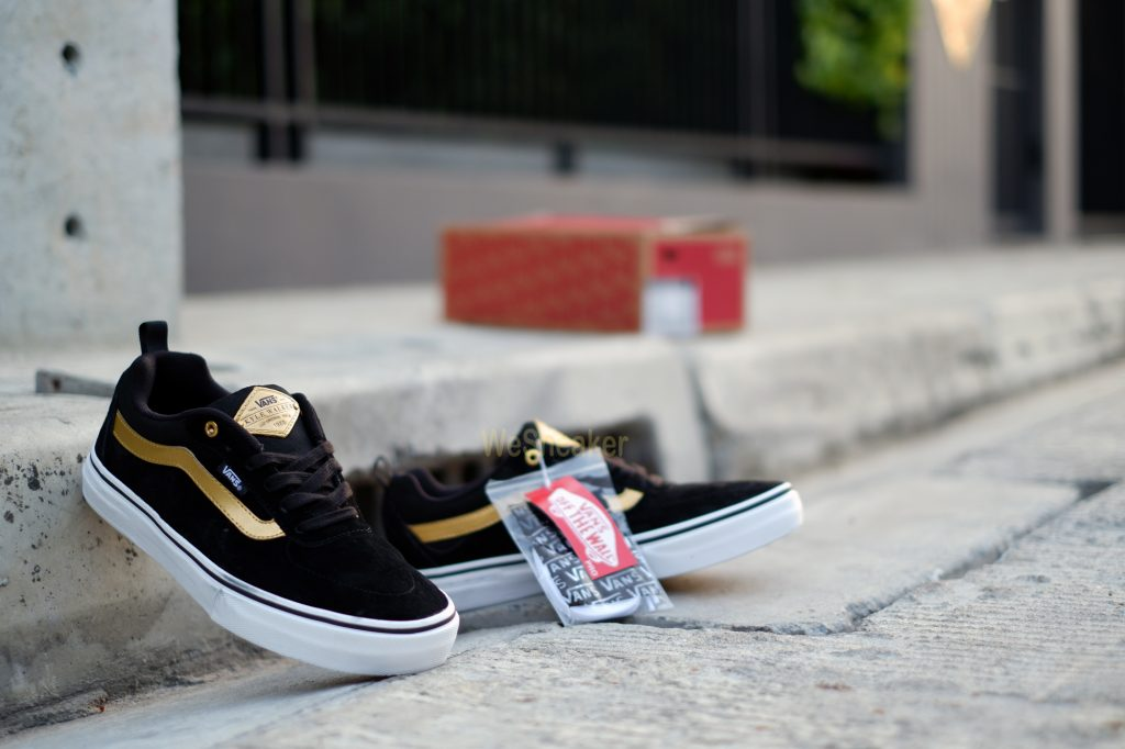[VANS] Kyle Walker (PRO) - Black/Metallic Gold : Price 4,290.-