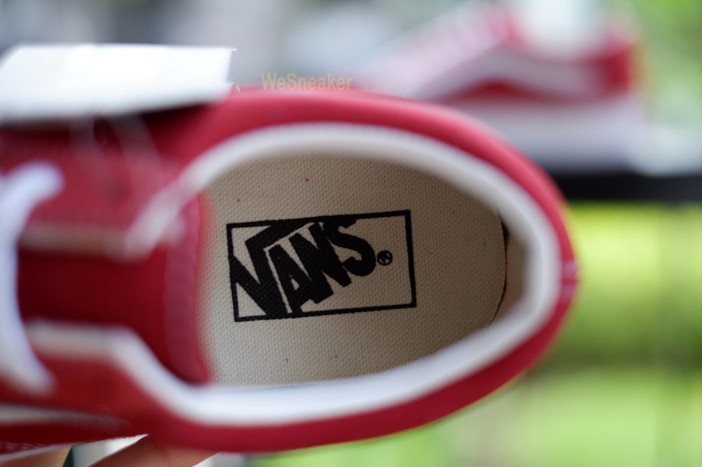 [VANS] Old Skool - Brick Red/True White : Price 3,290.-