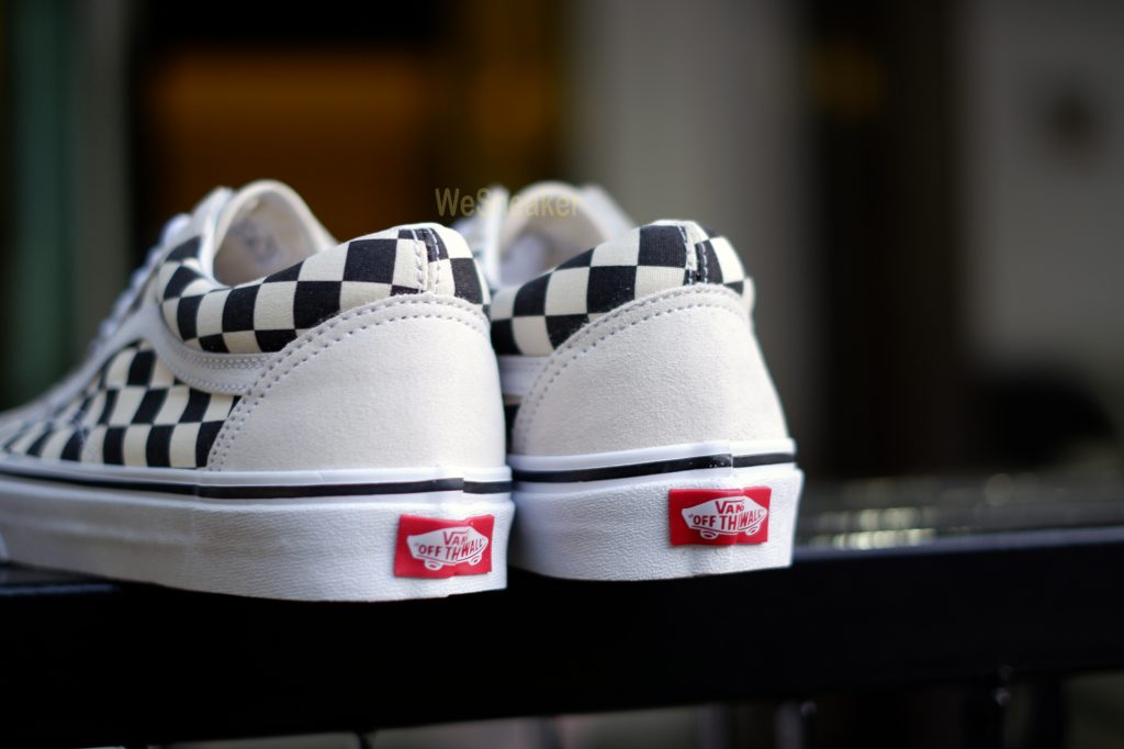 [VANS] Old Skool (Checkerboard) - White/Black : Price 3,290.-