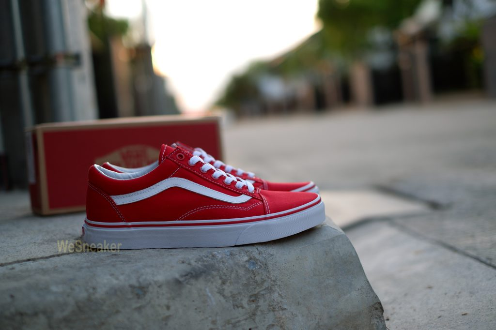 [VANS] Old Skool (Canvas) - Formula One/True White : Price 3,190.-