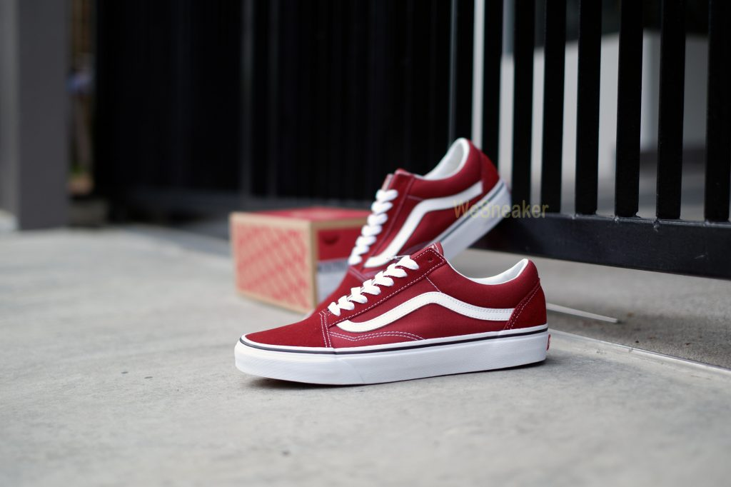 [VANS] Old Skool - Madder Brown/True White : Price 3,290.-