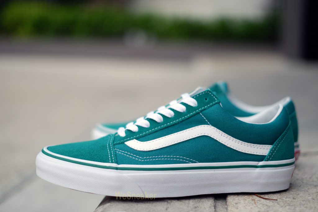 [VANS] Old Skool - Ultramarine Green/True White : Price 3,290.-