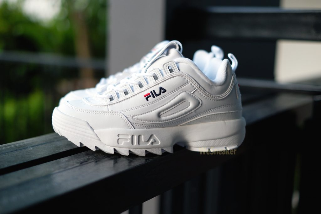 [Fila] Disruptor 2 - White : Price 3390.-