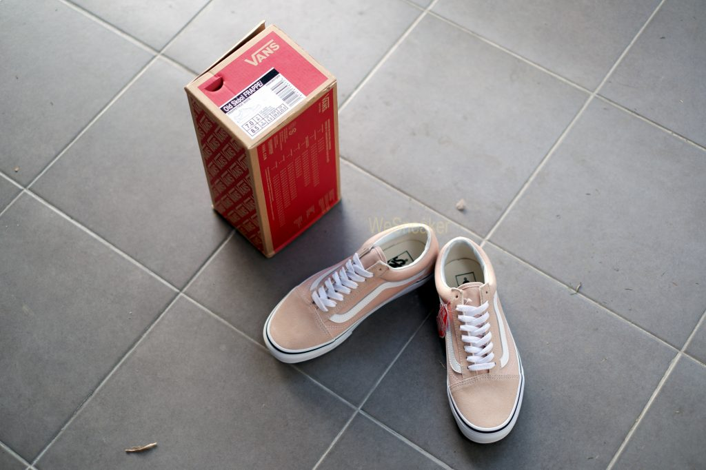 [VANS] Old Skool - Frappe/True White : Price 3,290.-