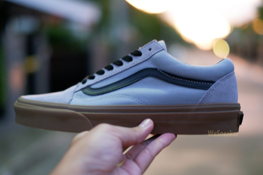 [VANS] Old Skool (Gum Outsole) - Alloy/Black : Price 3,390.-