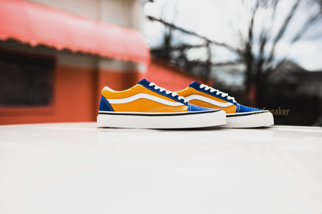 [VANS] Old Skool 36 DX (Anaheim Factory) - OG Blue/OG Gold : Price 3,590.-
