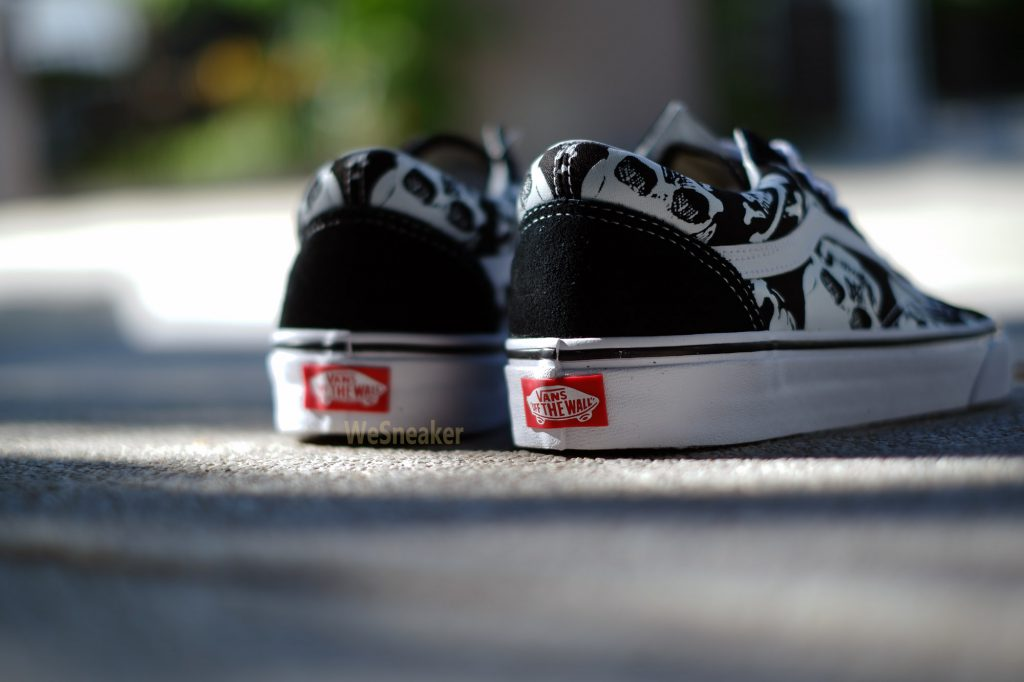 [VANS] Old Skool (Skulls) - Black/True White : Price 3,390.-