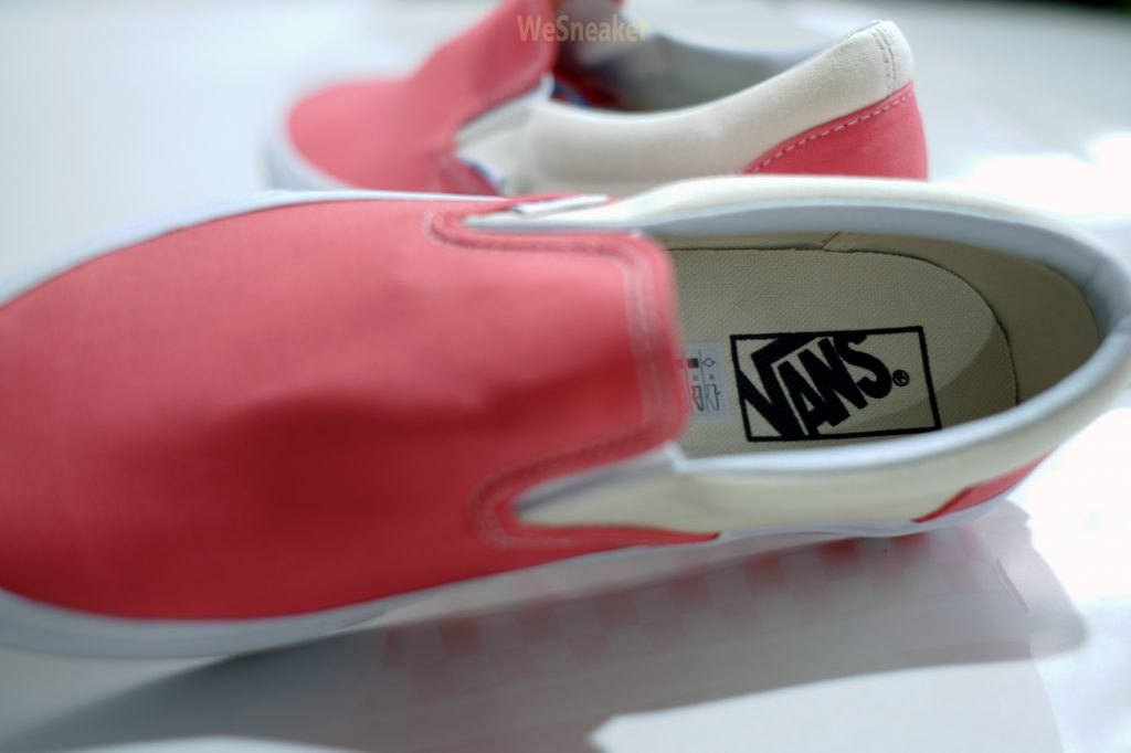 [VANS] Slip-On (Checker Sidewall ) Spiced Coral : Price 2,990.-