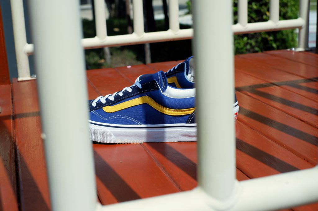 [VANS] Old Skool (V36OG) - Navy/Yellow : Price 3,890.-