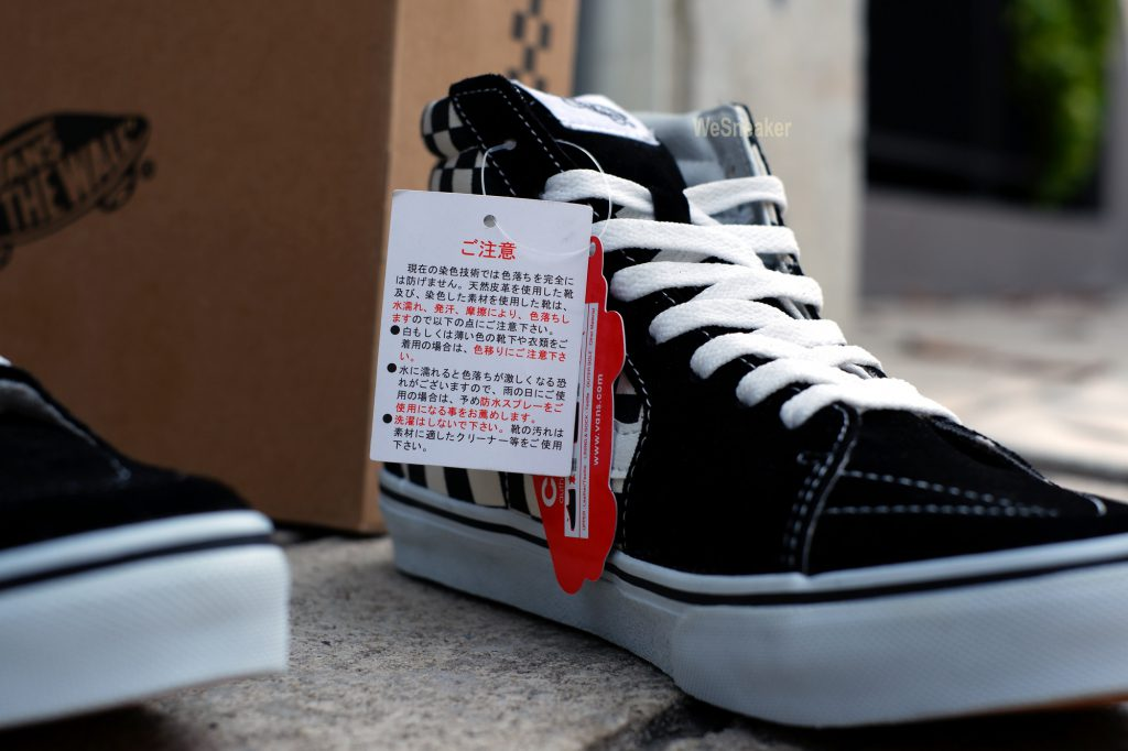 [VANS] SK8-Hi DX (Japan Edition V38CL+) Black/White/Check : Price 3,590.-