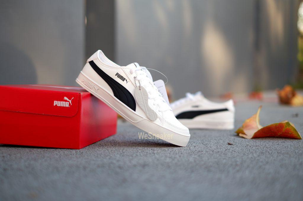 [PUMA] Smash V2 Vulc SL - White/Black : Price 2,499.-