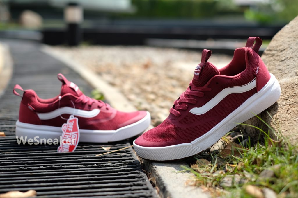 [VANS] UltraRange Rapidweld - Rumba Red/True White : Price 3,500.-
