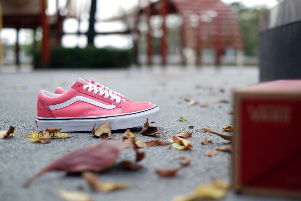 [VANS] Old Skool - Strawberry Pink/True White : Price 2,800.-
