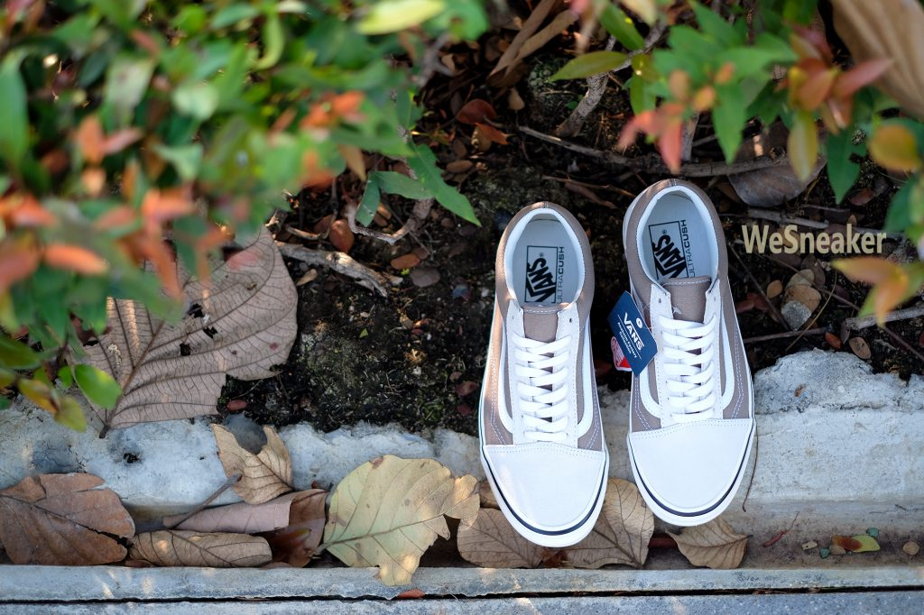 [VANS] Old Skool 36 DX (Anaheim Factory) - OG White/OG Birch : Price 3,400.-