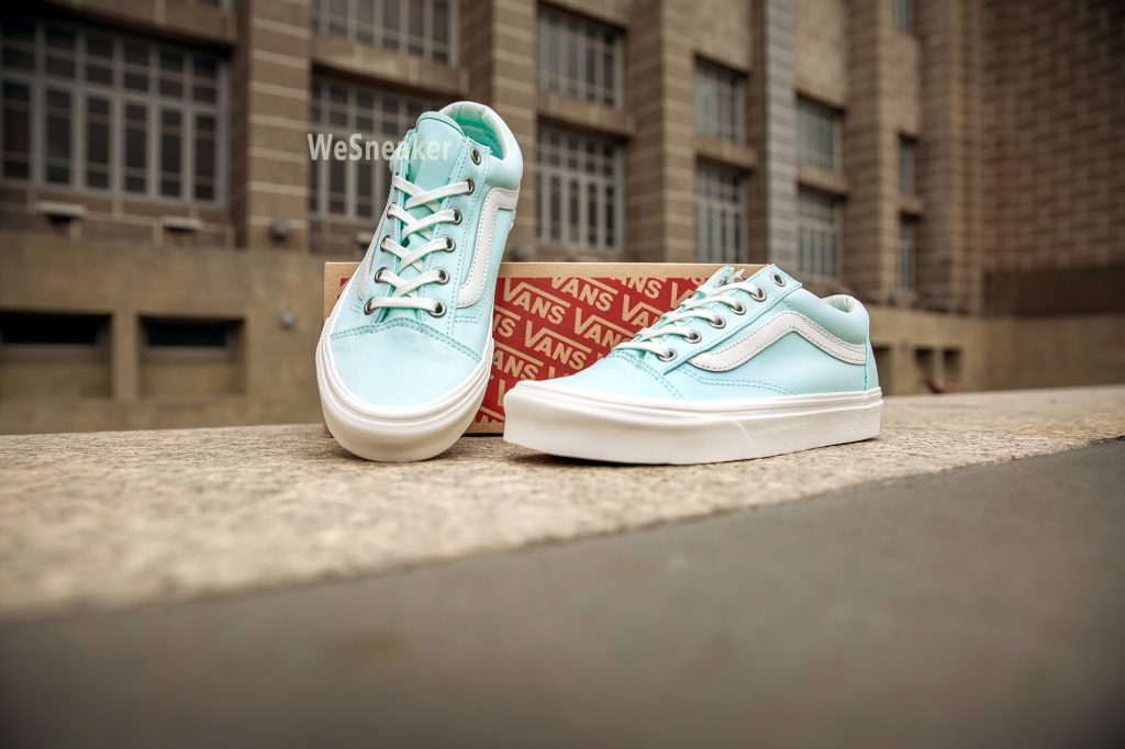 [VANS] Style 36 (Brushed Twill) - Soothing Sea/Snow White : Price 2,800.-