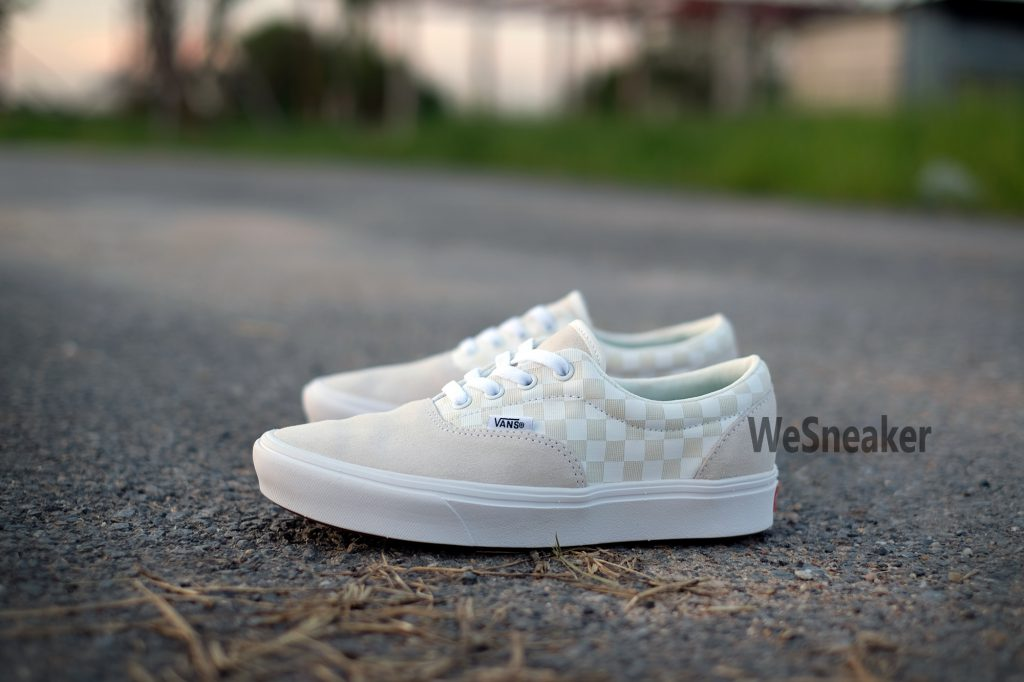 [VANS] Era (ComfyCush) - Checker Marshmallow/White : Price 2,890.-