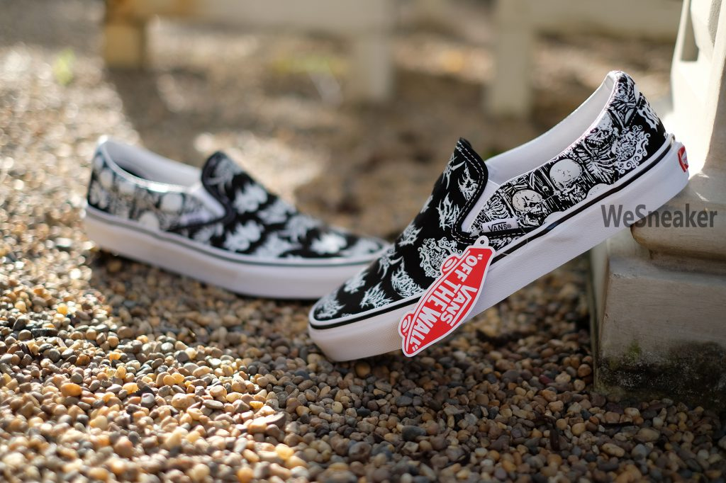 [VANS] Slip On - Forgotten Bone : Price 2,400.-