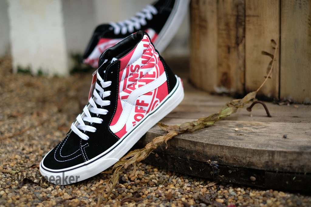 [VANS] SK8 (Hi) - OTW Quarter Heel Scab/Black/True White : Price 2,900.-