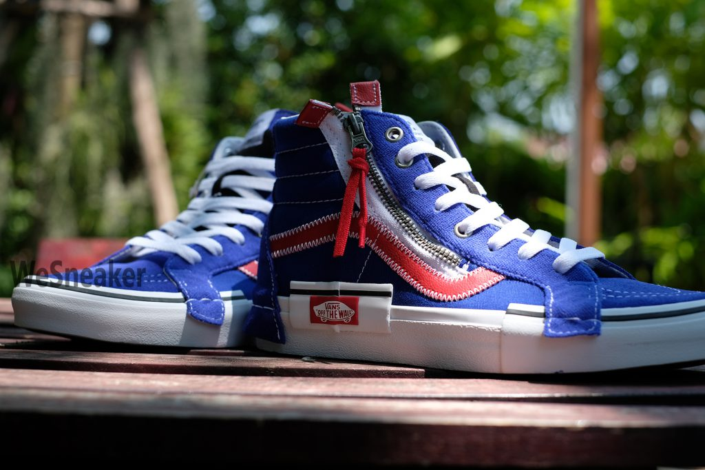 [VANS] SK8-Hi Reissue CAP - Surf The Web/Racing Red : Price 3,500.-